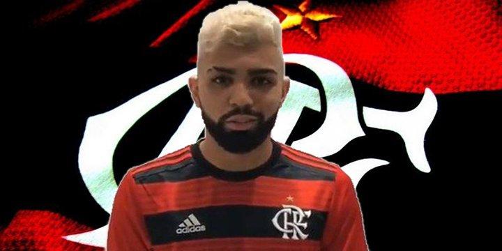 4a3e6231b3 O Flamengo vai anunciar nesta quarta-feira mais dois reforços  o atacante Gabriel  Barbosa